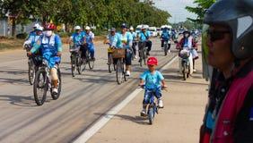Bicicletta, triciclo guardato Fotografia Stock Libera da Diritti