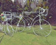 Biciclette bianche immagini stock libere da diritti