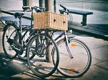 biciclette d'annata Fotografie Stock Libere da Diritti