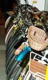Biciclette da vendere Fotografia Stock