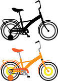 Biciclette dei bambini Fotografia Stock