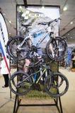 Biciclette del cubo Immagini Stock