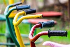 Biciclette del ` s dei bambini Immagini Stock