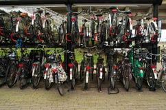 Biciclette nello stoccaggio Immagine Stock Libera da Diritti