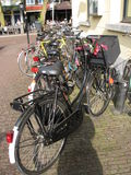 Biciclette parcheggiate Immagine Stock Libera da Diritti