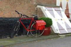 Biciclette parcheggiate. Fotografie Stock