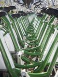 Biciclette per affitto Immagine Stock Libera da Diritti