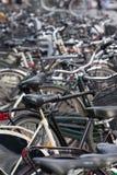 Metallo della bici Immagine Stock