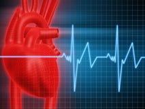 bicie serca Obraz Stock