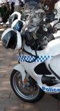 Bicis de la policía Imagen de archivo libre de regalías