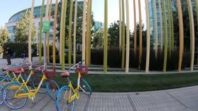 Bicis del campus de la tecnología de Google