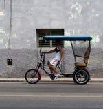 Bicitaxi In Havana Cuba Stock Image