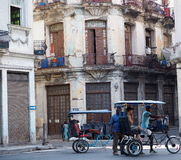 Bicitaxis In Havana Cuba Royalty Free Stock Photography