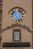 Bickentor Clock Tower Villingen-Schwenningen Germa royalty free stock image