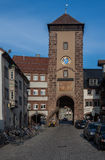 Bickentor Clock Tower Villingen-Schwenningen Germa Stock Photo