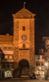 Bickentor Clock Tower Villingen-Schwenningen Germa Stock Photography