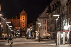 Bickentor Clock Tower Villingen-Schwenningen Germa Stock Photography