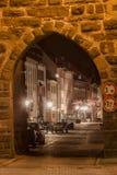 Bickentor Clock Tower Villingen-Schwenningen Germa Royalty Free Stock Photo