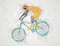 Biclycling sport Stock Images