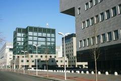 bicocca意大利米兰新的四分之一大学 免版税库存照片