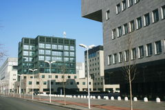 BICOCCA °° New Quarter & University. Italy, Milan Royalty Free Stock Photo