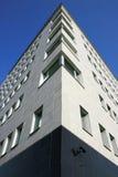 BICOCCA kwart°° Modern Project. De witte Bouw ° Milaan, Italië Stock Foto's