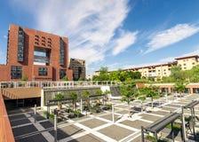 Bicocca universitet, Milan Italy Arkivfoton