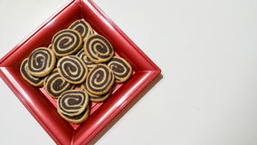 Bicolor печенья Стоковая Фотография