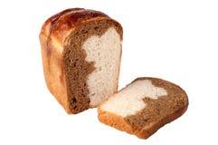 bicolor bröd Royaltyfria Foton
