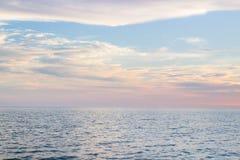 Bicolor en el cielo Imagen de archivo libre de regalías