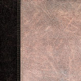 Bicolor leather vintage background Stock Photos