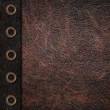 Bicolor leather vintage background Stock Image