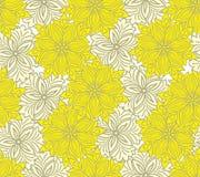 bicolor seamless yellow för bakgrund Arkivfoto