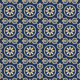 Bicolor vintage pattern Royalty Free Stock Photo