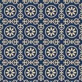 Bicolor vintage pattern Royalty Free Stock Photo