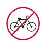 Bicycke roweru ikony przerwy dander przejażdżka royalty ilustracja