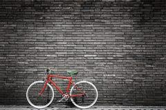 bicycle красный цвет Стоковые Фото