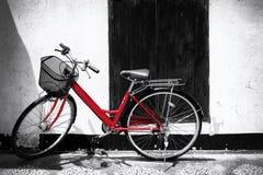 bicycle красный цвет Стоковое Фото