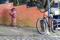 bicycle старая Стоковое фото RF
