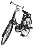 Bicycle. Black bicycle on white background Royalty Free Stock Images
