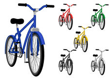 Bicycle. On isolated background. Vector illustration Royalty Free Stock Photo
