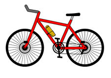 Bicycle. A illustration of bicycle vector illustration