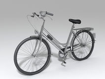 Bicycle. Background picture of a bicycle Stock Illustration
