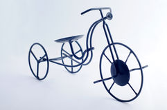Bicycle. Isolated bicycle with white background stock photo
