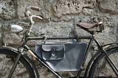 Bicycle. An old bike Royalty Free Stock Images