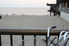 Bike at the Beach royalty free stock photo