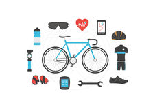 Bicycle Accessories Royalty Free Stock Photos