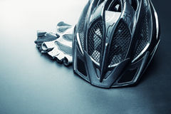Bicycle accessories Royalty Free Stock Image