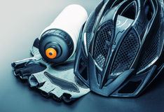 Bicycle accessories Stock Image