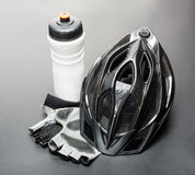 Bicycle accessories Stock Photography